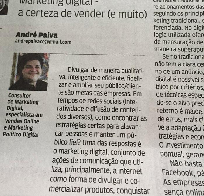 André Paiva - Consultor em Marketing Digital
