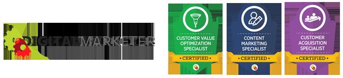 Certificações Internacionais na Digital Marketer